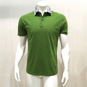 Etro Milano Men's Green Polo Shirt